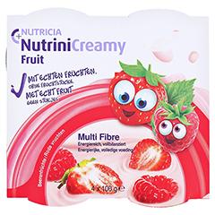 NUTRINI Creamy Fruit Beerenfrüchte 4x100 Gramm - Vorderseite