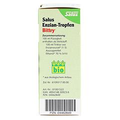 Salus Enzian-Tropfen Bittry 50 Milliliter - Rechte Seite