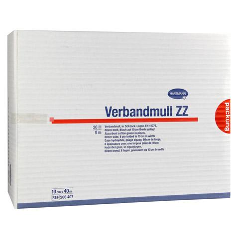 VERBANDMULL Hartmann 40 m zickzack 1 Stück