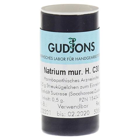 NATRIUM MURIATICUM C 30 Einzeldosis Globuli 0.5 Gramm N1