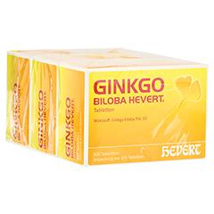 ginkgo biloba hevert tabletten 300 st ck n3 online. Black Bedroom Furniture Sets. Home Design Ideas