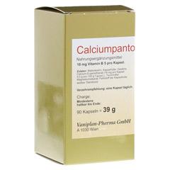 CALCIUMPANTOTHENAT 40 mg Vaniplan Kapseln 90 Stück