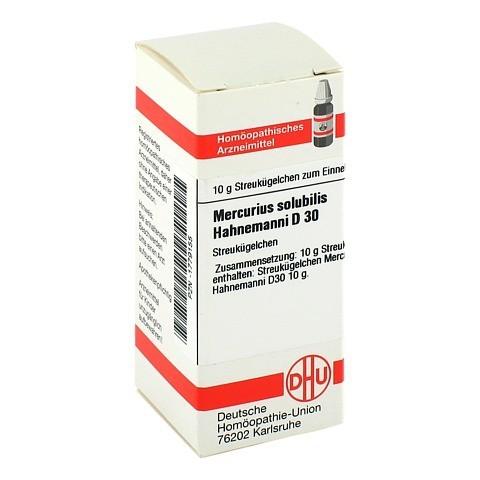 MERCURIUS SOLUBILIS D 30 Globuli Hahnemanni 10 Gramm N1