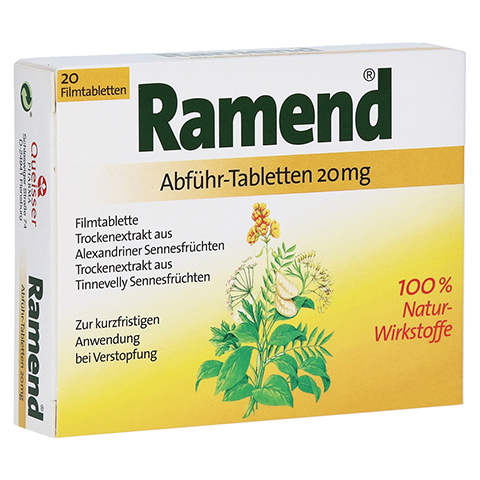 Ramend Abf�hr-Tabletten 20mg 20 St�ck