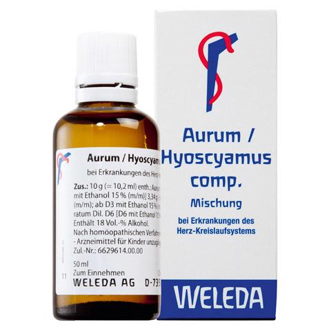 AURUM/HYOSCYAMUS comp.Dilution 50 Milliliter N1