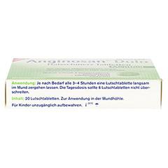 TETESEPT Anginosan Dolo Halsschmerz Tabletten 20 Stück - Unterseite