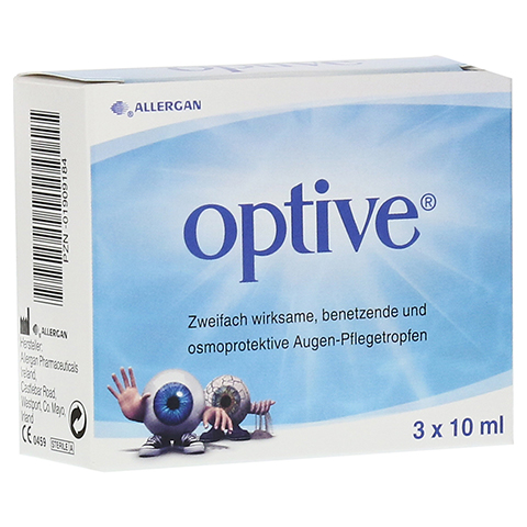 OPTIVE Augentropfen 3x10 Milliliter
