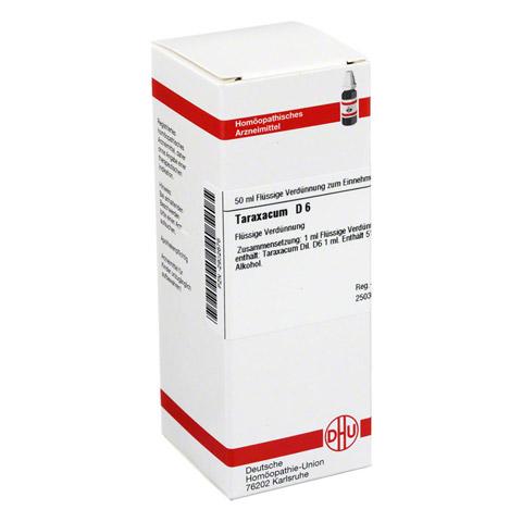 TARAXACUM D 6 Dilution 50 Milliliter N1