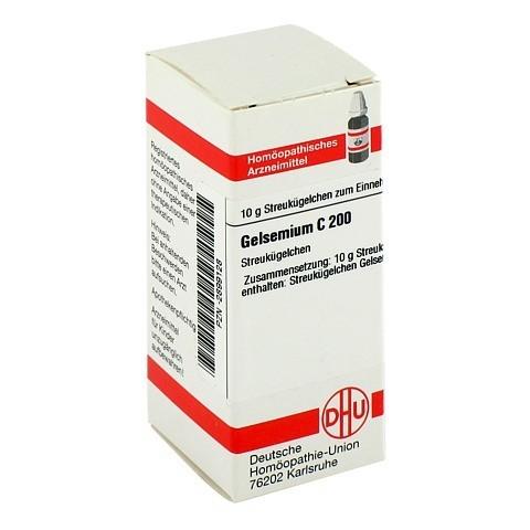 GELSEMIUM C 200 Globuli 10 Gramm N1