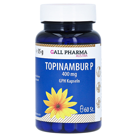 TOPINAMBUR P 400 mg Kapseln 60 Stück