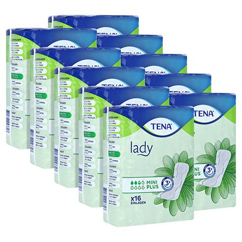 TENA LADY mini plus Einlagen 10x16 Stück