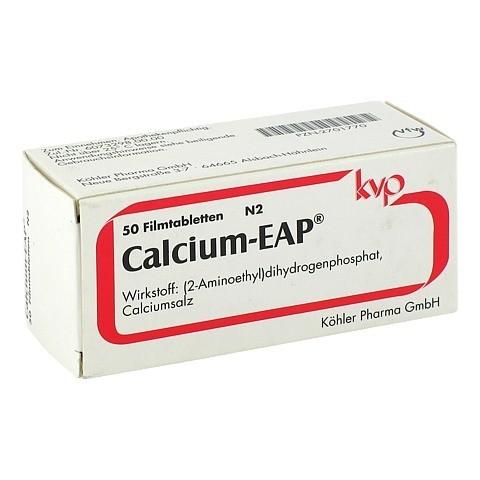 CALCIUM EAP magensaftresistente Tabletten 50 St�ck N2