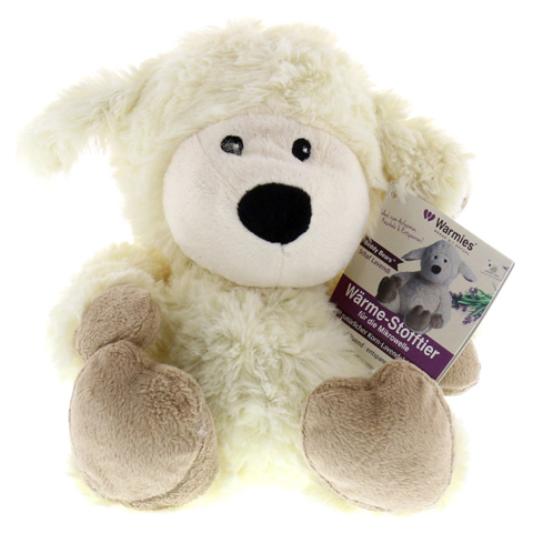 WÄRME STOFFTIER Beddy Bear Schaf beige 1 Stück