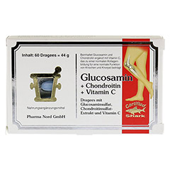 GLUCOSAMIN+Chondroitin Pharma Nord Dragees 60 St�ck - Vorderseite