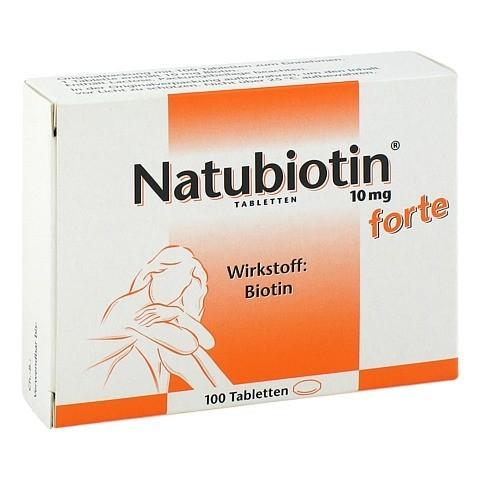 NATUBIOTIN 10 mg forte Tabletten 100 St�ck