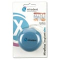 MIRADENT Zahnseide Mirafloss Implant chx medium 50x15 Stück
