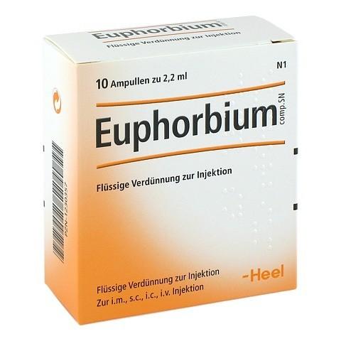 EUPHORBIUM COMPOSITUM SN Ampullen 10 Stück N1