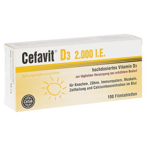 CEFAVIT D3 2.000 I.E. Filmtabletten 100 Stück