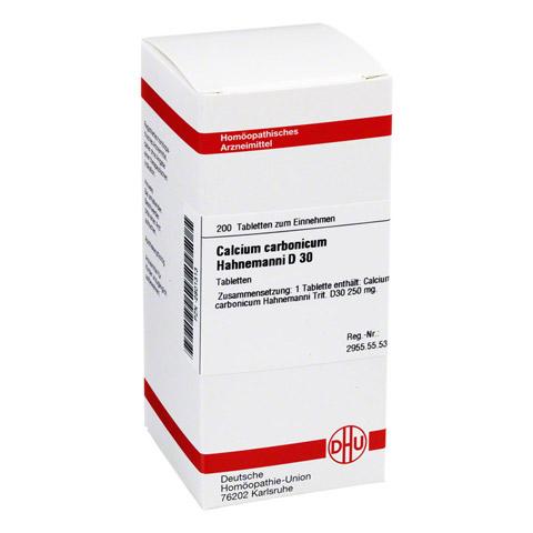 CALCIUM CARBONICUM Hahnemanni D 30 Tabletten 200 Stück