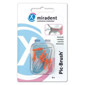 MIRADENT Interdentalb�rste PIC-Brush coni orange 6 St�ck