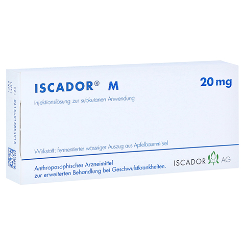 ISCADOR M 20 mg Injektionslösung 7x1 Milliliter N1