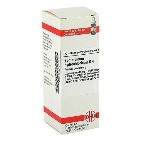YOHIMBINUM hydrochloricum D 4 Dilution 20 Milliliter N1