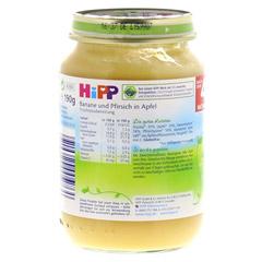 HIPP Früchte Banane-Pfirsich-Apfel 190 Gramm - Linke Seite