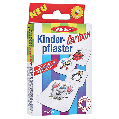 KINDERPFLASTER Cartoon 10 St�ck