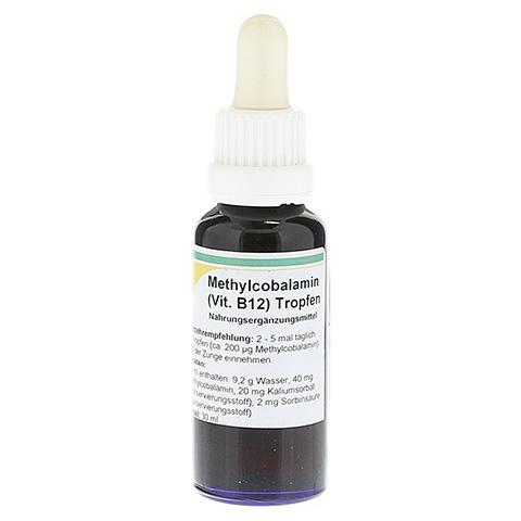 METHYLCOBALAMIN Vitamin B12 Tropfen 30 Milliliter