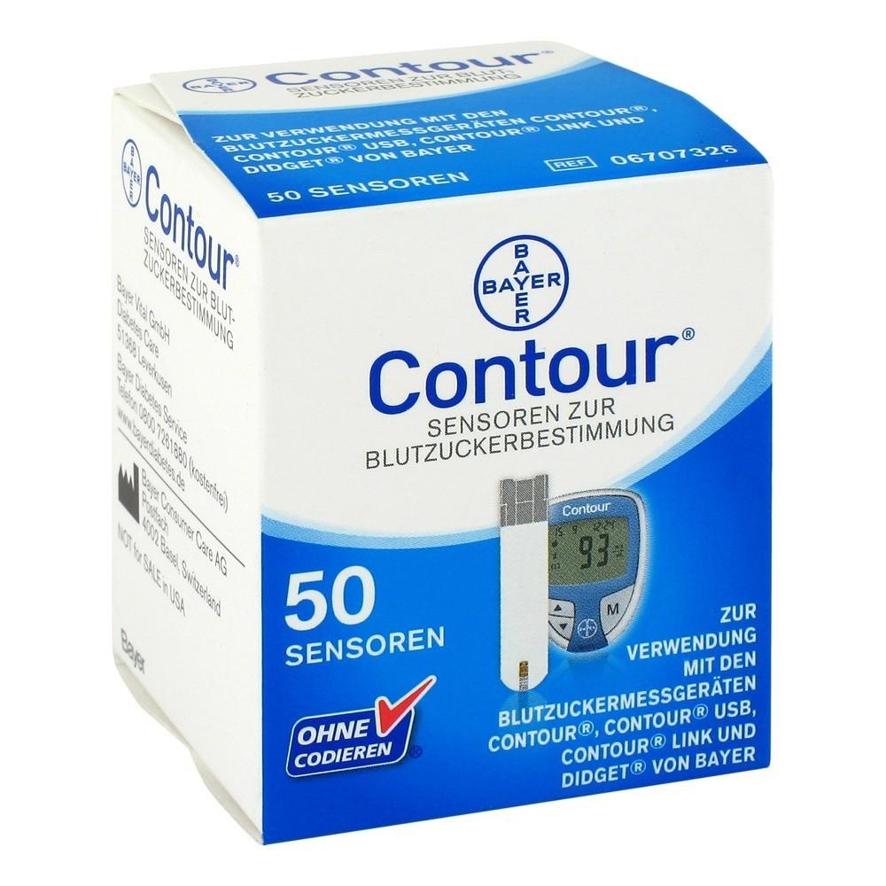 CONTOUR Sensoren Teststreifen CPC 50 Stück
