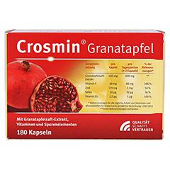 CROSMIN Granatapfel Kapseln 180 St�ck - R�ckseite