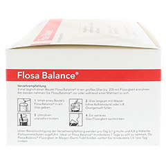 FLOSA Balance Pulver Beutel 100x5.5 Gramm - Linke Seite