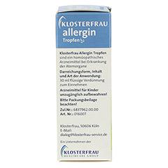 KLOSTERFRAU Allergin flüssig 30 Milliliter - Linke Seite