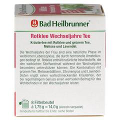 BAD HEILBRUNNER Tee Rotklee Wechseljahre Fbtl. 8 Stück - Rechte Seite