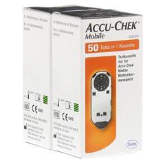 ACCU CHEK Mobile Testkassette 100 Stück