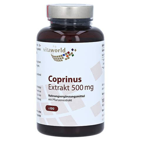 COPRINUS Extrakt 500 mg Kapseln 100 Stück