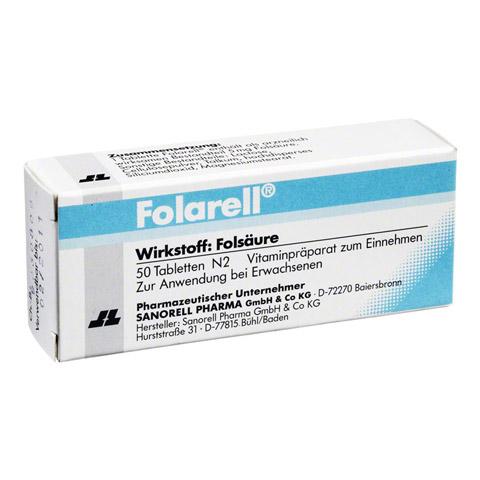 FOLARELL Tabletten 50 Stück N2