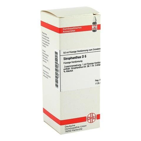 STROPHANTHUS D 6 Dilution 50 Milliliter N1
