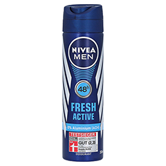 NIVEA MEN Deo Spray fresh active 150 Milliliter