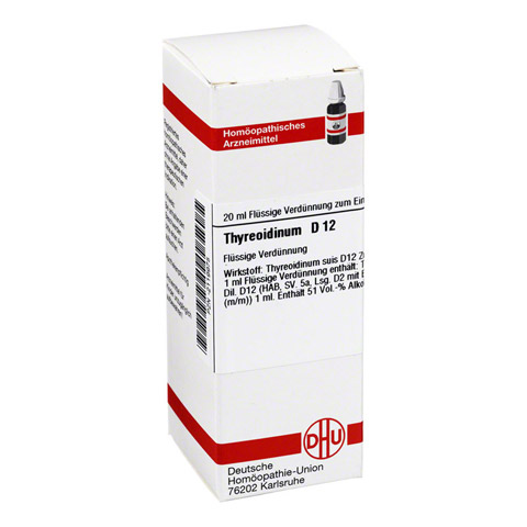 THYREOIDINUM D 12 Dilution 20 Milliliter N1