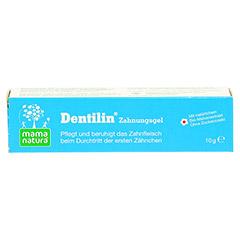 MAMA natura Dentilin Zahnungsgel 10 Gramm - Vorderseite