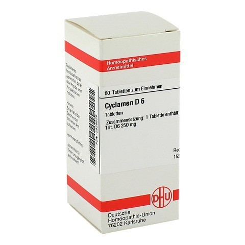 CYCLAMEN D 6 Tabletten 80 St�ck N1