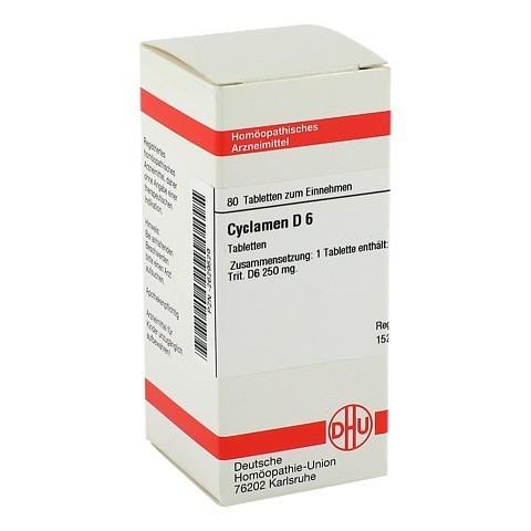 CYCLAMEN D 6 Tabletten 80 St�ck N1