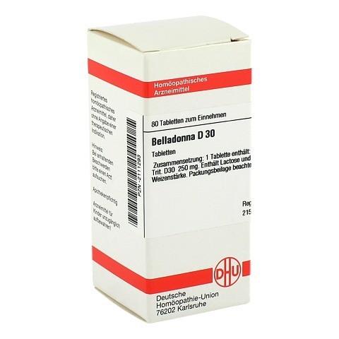 BELLADONNA D 30 Tabletten 80 Stück