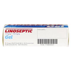LINOSEPTIC Gel 30 Gramm - Unterseite