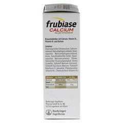 FRUBIASE CALCIUM+Vitamin D Brausetabletten 20 Stück - Rechte Seite