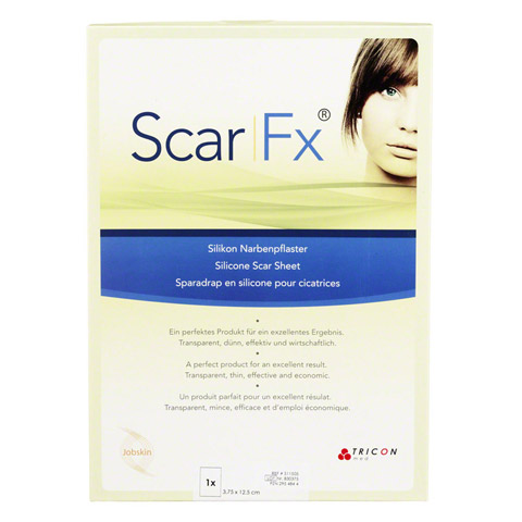 SCAR FX Silikon Narben Pflast.3,75x12,5cm 1 Stück