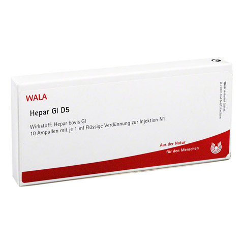 HEPAR GL D 5 Ampullen 10x1 Milliliter N1