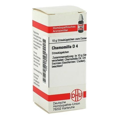 CHAMOMILLA D 4 Globuli 10 Gramm N1