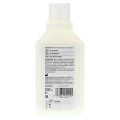SENSIVA protective Emulsion 500 Milliliter - Rückseite